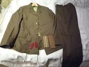 пилотки,  шапки, сапоги, форма СССР