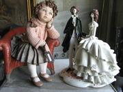Реставрация керамики,  фарфора: статуэтки,  вазы,  декор.