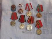 Юбилейные значки медали.